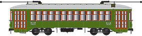 Bowser New Orleans Streetcar with Sound RTA #930 HO Scale Model Train Streetcar #12835