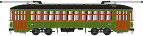 Bowser New Orleans Streetcar with Sound #913 HO Scale Model Train Streetcar #12838