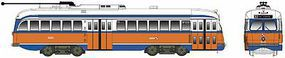 Bowser Kansas City-Style PCC Streetcar Philadelphia #2243 HO Scale Model Train Passenger Car #12908