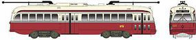 Bowser Kansas City-Style PCC Streetcar San Francisco 1190 HO Scale Model Train Passenger Car #12916