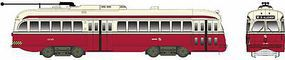 Bowser Kansas City-Style Post-War PCC Streetcar SEPTA #2246 HO Scale Model Train Passenger Car #12924