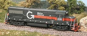 Bowser GE U25B Phase IV Maine Central #226 HO Scale Model Train Diesel Locomotive #23110