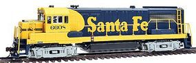 Bowser GE U25B Phase 2 Santa Fe #6601 HO Scale Model Train Diesel Locomotive #23122