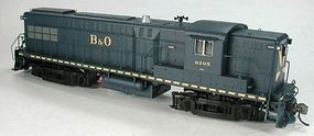 Bowser Baldwin AS-16 Baltimore & Ohio Sunburst #6205 HO Scale Model Train Diesel Locomotive #23302