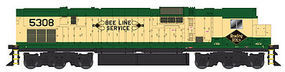Bowser Alco C630 w/Hi-Ad Trucks Reading #5310 HO Scale Model Train Diesel Locomotive #23392