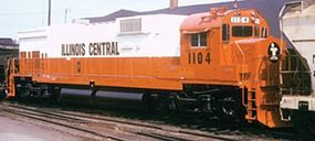 Bowser Executive Line Alco C636 Illinois Central #1100 HO Scale Model Train Diesel Locomotive #23573