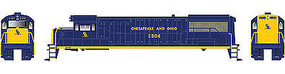 Bowser GE U25B DC Chesapeake & Ohio #2504 HO Scale Model Train Diesel Locomotive #23845