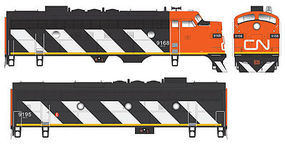 Bowser EMD F7A DC Executive Line Canadian National #9168 HO Scale Model Train Locomotive #24036