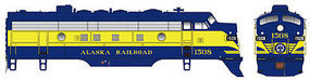 Bowser EMD F7A Standard DC Alaska Railroad #1506 HO Scale Model Train Locomotive #24044