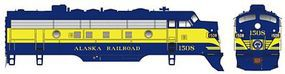 Bowser EMD F7A Standard DC Alaska Railroad #1508 HO Scale Model Train Locomotive #24045