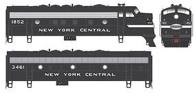 Bowser EMD F7A Standard DC New York Central #1842 HO Scale Model Train Locomotive #24064