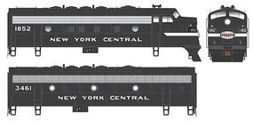 Bowser EMD F7 A-B Set DCC New York Central #1852, 3461 HO Scale Model Train Locomotive #24071