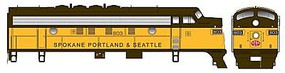 Bowser EMD F7A DCC Spokane, Portland & Seattle #803 HO Scale Model Train Locomotive #24074