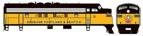 Bowser F-7a Spokane Portland & Seattle #805 with Sound HO Scale Model Train Diesel Locomotive #24075
