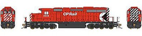 Bowser SD40-2 Canadian Pacific Rail #6041 with Sound HO Scale Model Train Diesel Locomotive #24145