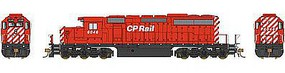 Bowser SD40-2 Canadian Pacific Rail #6049 with Sound HO Scale Model Train Diesel Locomotive #24149