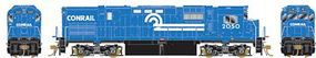 Bowser Alco C430 DC - Conrail #2050 (blue, white) HO Scale Model Train Diesel Locomotive #24180
