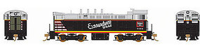 Bowser VO-1000 DC Chicago, Burlington, & Qunicy #9378 HO Scale Model Train Diesel Locomotive #24214