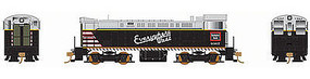 Bowser VO-1000 DC Chicago, Burlington, & Qunicy #9379 HO Scale Model Train Diesel Locomotive #24220