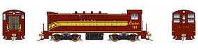 Bowser VO-1000 DC NC&StL #33 HO Scale Model Train Diesel Locomotive #24229