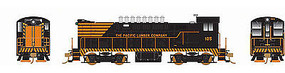 Bowser VO-1000 DC Pacific Lumber 104 HO Scale Model Train Diesel Locomotive #24238
