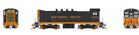 Bowser VO-1000 with Sound Southern Pacific #1322 HO Scale Model Train Diesel Locomotive #24251