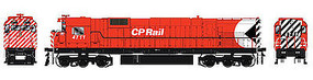 Bowser M636 with Sound Canadian Pacific #4711 HO Scale Model Train Diesel Locomotive #24274