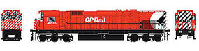 Bowser M636 with Sound Canadian Pacific #4735 HO Scale Model Train Diesel Locomotive #24288