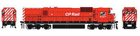 Bowser M636 with Sound Canadian Pacific #4717 HO Scale Model Train Diesel Locomotive #24310