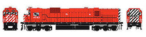 Bowser M636 DC Delaware-Lackawanna #4743 HO Scale Model Train Diesel Locomotive #24330