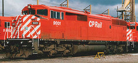 Bowser SD40-2F DC Canadian Pacific #9009 HO Scale Model Train Diesel Locomotive #24336