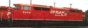 Bowser D40-2F with Sound Canadian Pacific #9000 HO Scale Model Train Diesel Locomotive #24353