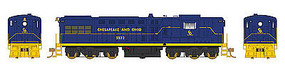 Bowser DRS-6-6-1500 Chesapeake & Ohio #5532 HO Scale Model Train Diesel Locomotive #24356