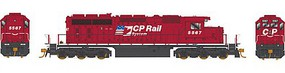 Bowser Ho SD40-2 CP RAIL 5567 W/sd