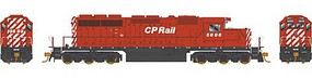 Bowser Ho SD40-2 CP RAIL 5698