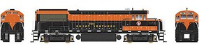 Bowser GE U25B w/LokSound & DCC - Executive Line Great Northern #2522 (Simplified Scheme, Omaha Orange, Pullman Green)