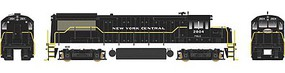 Bowser GE U25B - Standard DC - Executive Line New York Central #2804 (black, white, P&LE Sublettering)
