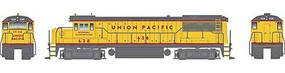 Bowser GE U25B w/LokSound & DCC - Executive Line Union Pacific #639 (Armour Yellow, gray, red)