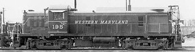 Bowser RS-3 Loco DC WM #196