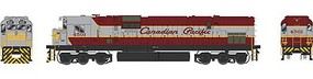 Bowser HO C630M w/DCC & Sound, CPR/Grey/Maroon #4507