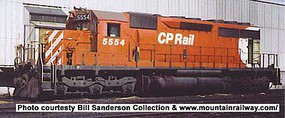 Bowser SD40 DC CP #5533