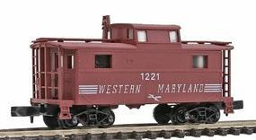 Bowser N-5 Caboose Western Maryland N Scale Model Train Freight Car #37243