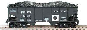 Bowser GLa 2-Bay Hopper BWCX 4225 N Scale Model Train Freight Car #37735