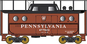 Bowser PRR Class N5C Steel Cabin Car Pennsylvania Railroad N Scale Model Train Freight Car #37800