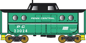 Bowser PRR Class N5C Steel Cabin Car Penn Central #23034 N Scale Model Train Freight Car #37806