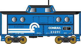 Bowser N5c Caboose Conrail #23081 N Scale Model Train Freight Car #37808