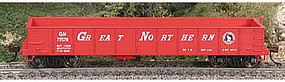 Bowser GS Gondola Great Northern #72570 (red, white) HO Scale Model Train Freight Car #40319