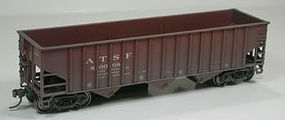Bowser 70-Ton 14-Panel Triple Hopper ATSF HO Scale Model Train Freight Car #40442