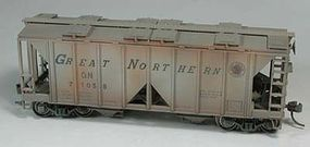 Bowser 70 Ton Covered Hopper Great Northern 71071 HO Scale Model Train Freight Car #40484