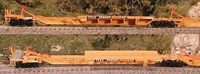Bowser Trinity RAF53C 5-Unit Spine Car TTX TTAX #555130 HO Scale Model Train Freight Car #40802